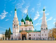 Знаменитая церковь Ильи Пророка