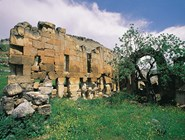 Фрагмент стен на Немрут-Даг