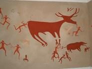 Рисунки в Чатал-Гуюк