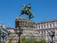 Памятник  Богдану Хмельницкому на Софийской площади