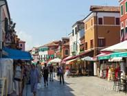 Уличный рынок на о.Бурано