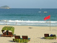 Пляж на Хайнане, Китай