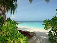 Пляж на Индийском океане, Мальдивы