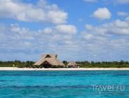 Берег острова Косумель, Мексика