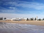 Пляж в городе Эс-Сувейра, Марокко