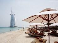 Пляж в Дубае, ОАЭ