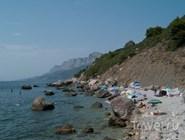 Дикий пляж в Крыму, Украина