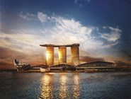 Отель-казино Marina Bay Sands в Сингапуре