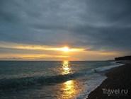Закат над Черным морем