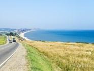 Побережье Азовского моря у Голубицкой