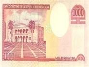 RD$1000 реверс, 2000-2001