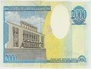RD$2000 реверс, 2000-2001