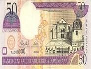 RD$50 аверс, 2000-2001