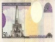 RD$50 реверс, 2000-2001