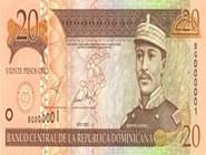 RD$20 аверс, 2002