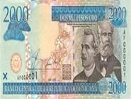 RD$2000 аверс, 2002