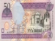 RD$50 аверс, 2002