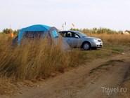 Дикий отдых в окрестностях Веселовки