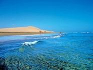 Живописный пляж в Маспаломасе