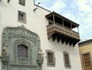 Резные балконы в Лас-Пальмасе