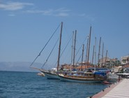 Яхты в гавани Чешме