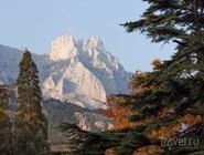 Вид на Ай-Петри из Алупки