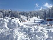 Много снега в Копаонике
