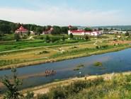 Вид с берега реки Усолки на Красноусольск