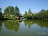 Тёплый пруд на курорте Горячинск