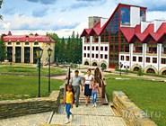Территория курорта Красноусольск