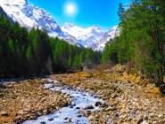 Река в предгорьях Эльбруса