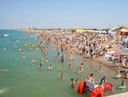 Пляж в Новофедоровке, Крым