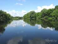 Москва-река в Звенигороде