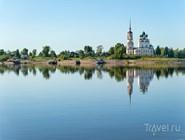 Река Вычегда в Сольвычегодске