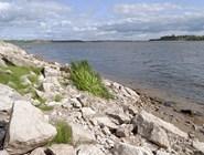 Побережье реки Вычегды в Сольвычегодске