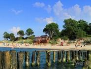 Городской пляж Зеленоградска