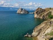 Скалы острова Ольхон