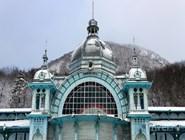 Здание старой купальни постройки 1902 года в Железноводске