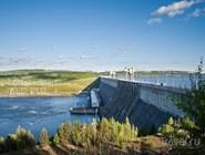 Гидроэлектростанция на Ангаре