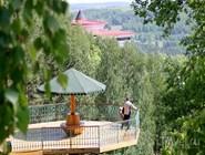 Смотровая площадка. Вид на долину реки Юрюзань