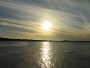 Закат на Кайо-Гильермо