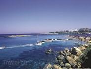 Каменистое побережье Протараса