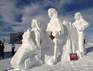Фестиваль снежных скульптур