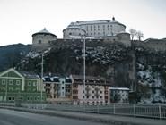 Вид на крепость в Куфштайне