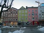 Разноцветные домики в Куфштайне