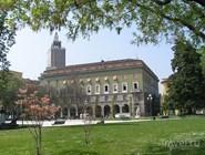 Кремона. Площадь Piazza Roma