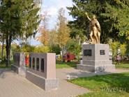 Памятник павшим в Великой Отечественной войне жителям села Вятское