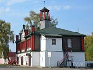 Бывшее здание пожарной дружины в Вятском