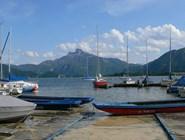 Порт на озере Мондзе