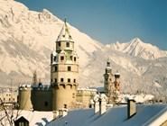 Зимний пейзаж Халля